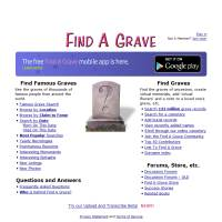 Find A Grave image