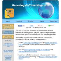 Genealogy in Time image